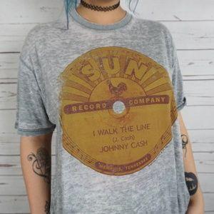 Tops - BOHO Official Johnny Cash T Shirt